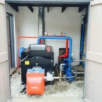 Hot Water Boiler Installation